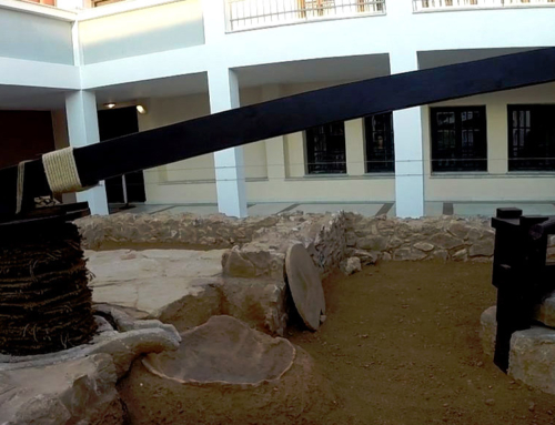Ancient Mill Discovered on Lesvos